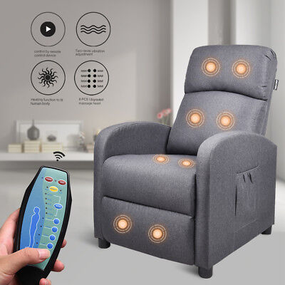 Couch Bed Sofa Recline Adjustable Sleeper Remote Control  Home Living Furniture