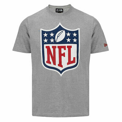 REDUCED.NEW ERA NFL T SHIRT.TEAM APPAREL GREY COTTON TEE TOP.SIZE MEDIUM S20F