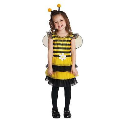 Totally Ghoul Sweet Little Honey Bee  Infant Toddler Halloween Costume 2-4 Years