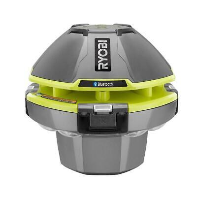 RYOBI ONE+ 18 V Floating Speaker/Light Show w/ Bluetooth Waterproof Tool only