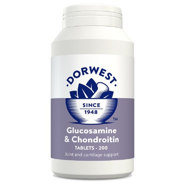 Dorwest Glucosamine and Chondroitin Tablets x200, Premium Service, fast dispatch