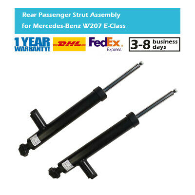 Pair Rear Shock Absorbers Fit Mercedes Benz C E Class Coupe C204 C207 2009-2016