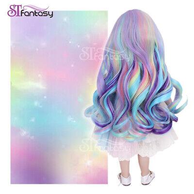 """13'' Doll Wig Fit 18"""" American Girl Doll AG OG Gotz Journey Girls Christmas Gift ()"""