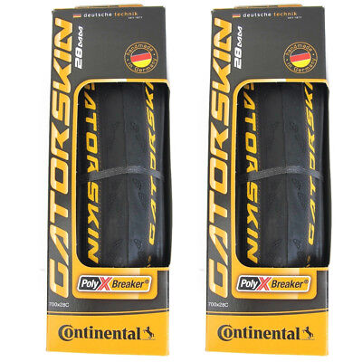 Continental Gatorskin Folding Tires PAIR 700x28c Puncture Re