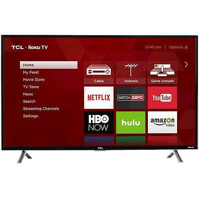 "TCL - 40"" Class (40"" Diag.) - LED - 1080p - Smart - HDTV Roku TV"