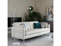 Dwell Paris II Three Seater Sofabed Leather | RRP £1999