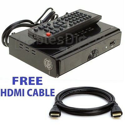 HDTV Digital Antenna Box Recording HDMI output 1080P Receiver Converter Tuner