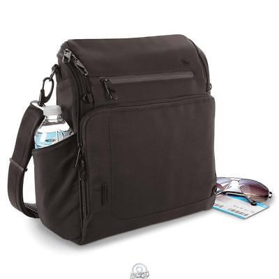 Better Boarding Bag Lightweight Black Nylon Fleece Lined Long