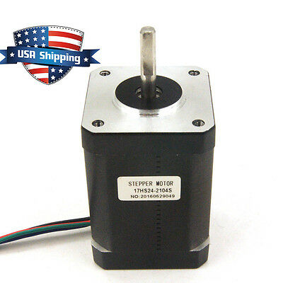 High Torque 92oz.in Nema 17 Stepper Motor 2.1a Cnc3d Printer Extruder