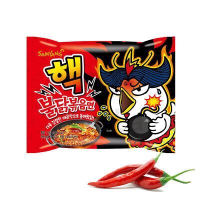 New Nuclear Spicy Buldak 1 Pack Hot Spicy Ramen Korean Instant 10000 SHU