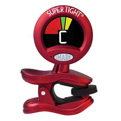 Snark ST-2 Super Tight Multi-Instrument Chromatic Headstock Tuner, Red