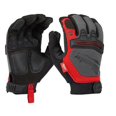 milwaukee demolition work construction gloves smart swipe