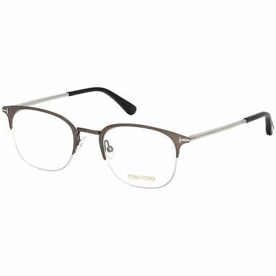 Tom Ford Men's Eyeglasses Matte Ruthenium W/Demo Lens FT5452/013
