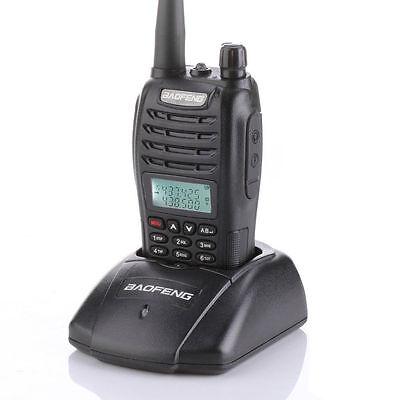 Baofeng UV-B6 Dual Band 136-174 VHF 400-470 Mhz UHF Two Ways Radio Walkie Pro