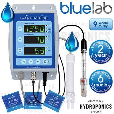 Bluelab Guardian Monitor - pH EC TDS PPM Continuous Read Meter - Blue Lab  Guardian Monitor
