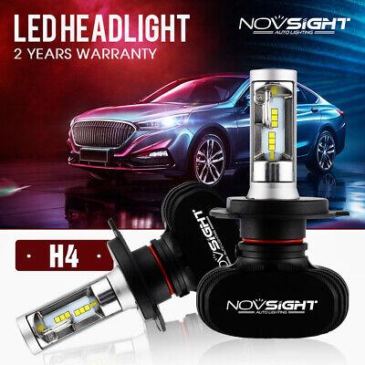 NOVSIGHT LED H4 HB2 50W Scheinwefer Frontscheinwerfer Birnen Headlight Kit