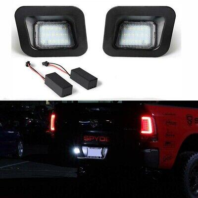 Error Free 18LED License Plate Light Assy For Dodge RAM 1500 2500 3500 2002-2018