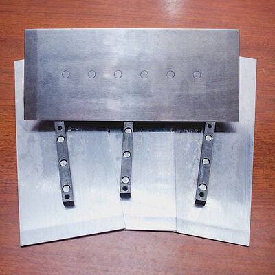 6 X 14 Power Trowel Finish Blades 2 Sets - Allen Whiteman Bartell Wacker