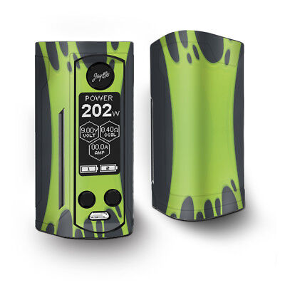 Skin Decal for Wismec Reuleaux RX Gen3 Dual Vape / Stretched Slime Green