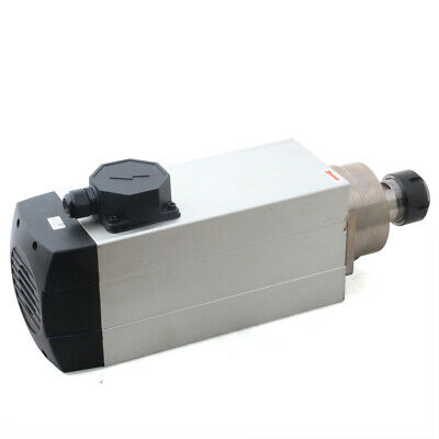 Er32 Air Cooled Electric Spindle Motor For Woodworking Router 4.5kw 18000rpm Usa