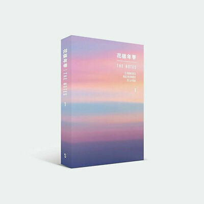 BTS 花樣年華 THE NOTES 1 Spanish Ver Book+Tracking Code