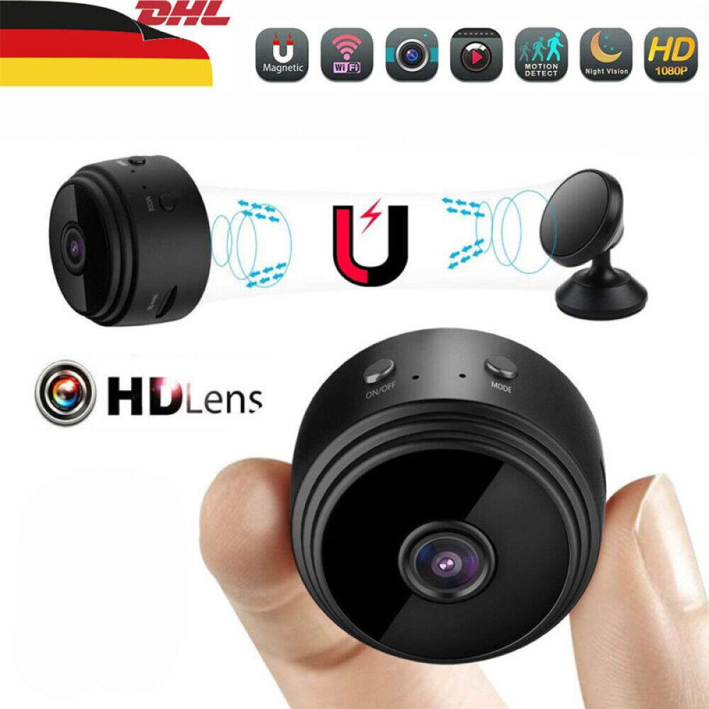 Mini IP Kamera HD 1080P Wireless Wifi Camera Wlan Überwachungskamera Nachtsicht