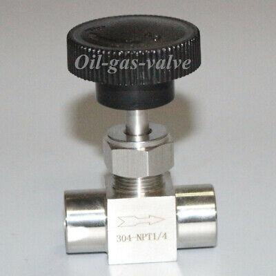 Needle Valve Ball Valve 14 Inch Npt Stainless Steel High Pressure Water Gas Us
