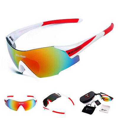 Bicycle Cycling Sunglasses Sports Glasses Bike Goggles UV400 Unisex Eyewear (Bicycling Glasses)