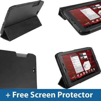 Motorola Leather Pda Case - Black PU Leather Case for Motorola Xoom 2 Media Edition 8.2