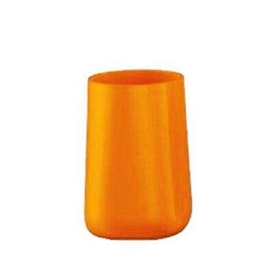 Orange Zahnbürstenhalter (Kleine Wolke Trixy Orange Zahnputzbecher Becher Zahnbürstenhalter Markenware)