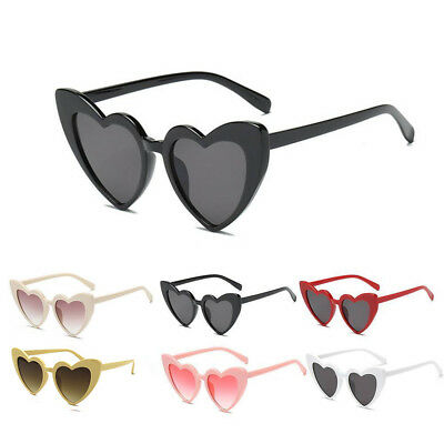 Fashion Women's Lady Sunglasses Heart Shaped Large Glasses Party Summer Anti UV - Heart Shaped Glasses
