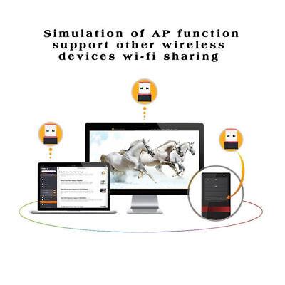 1pcs Mini USB WiFi Wireless Adapter 802.11 n/g/b Computer Network Card 150 Mbps