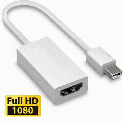 Mini DisplayPort Thunderbolt To HDMI Adapter For Microsoft Surface Pro 1 2 3 4