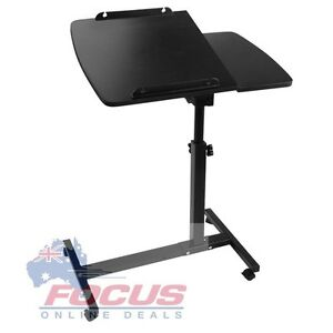 Rotating Mobile Laptop Adjustable Desk Black or White Melbourne CBD Melbourne City Preview
