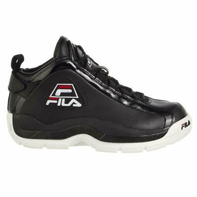 Fila men's 96 grant hill black/white/red shoes