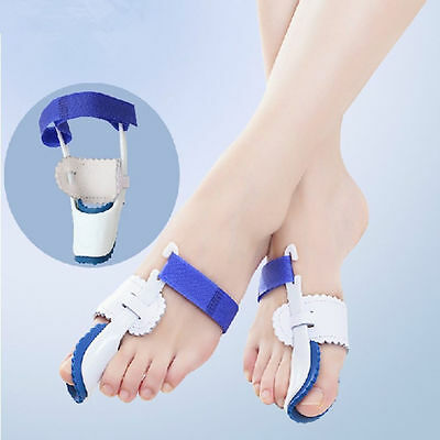 1Pair Bunion Device Hallux Valgus Orthopedic Braces Toe Corrector Night Big Bone