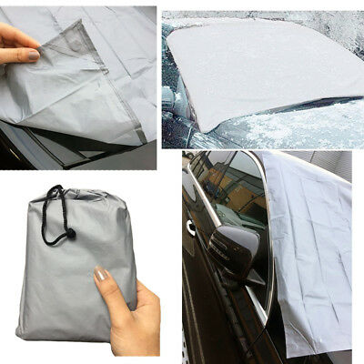 LARGE Magnetic Car Windscreen Cover Protector Anti Frost Snow Dust Sun Shield