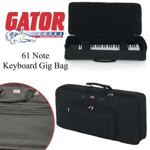 NEW Gator 61 Note Keyboard Gig Bag (GKB-61) Condtion: New, 61-Note, Some very light signs of wear