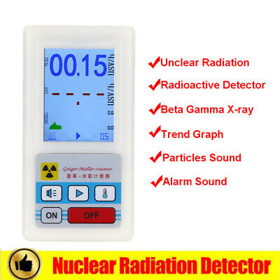BR-6 Geiger Counter Dosimeter Nuclear Detector Gamma X-ray Handheld Professional