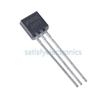 20 Pcs J201 To92 Jfet N-channel Transistor 50a 40v New S8