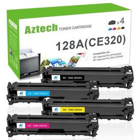 HP 128A CMYK Pack CE320A CE321A CE323A CE322A For HP CM1415FN