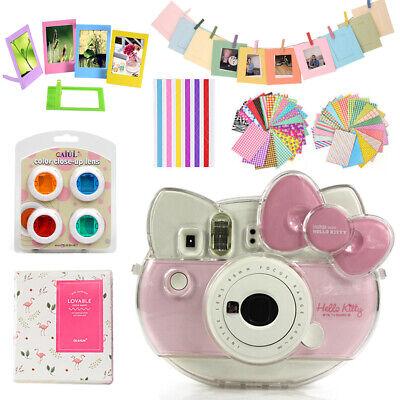 For Fujifilm Instax Mini HELLO KITTY Camera Case Cover + Album + Colors Filters