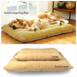 Extra-Large-Warm-Soft-Fleece-Puppy-Pets-Dog-Cat-Bed-Cushion-Pillow-Mat-2-Size-UK