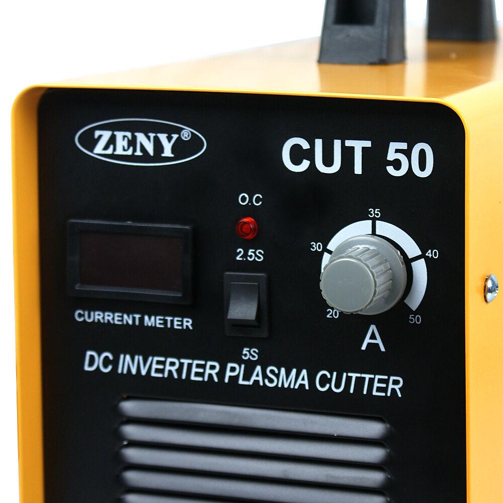 CUT-50 Electric Digital Plasma Cutter Inverter 50AMP Welder Cutting Dual Voltage 2
