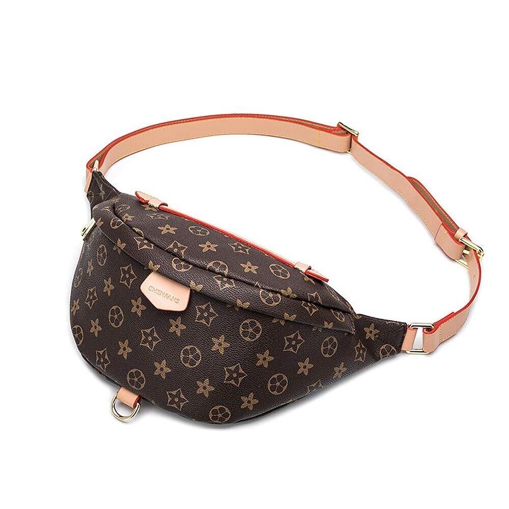 Leather Fanny Pack Designer Belt Bags Fashion Top Handle Pur