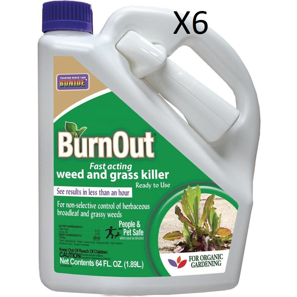 Bonide Ready-to-Use Burnout, Fast Acting Weed and Grass Kill