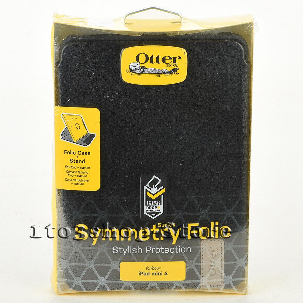 OtterBox Symmetry Folio for Apple iPad Mini 4 White and Gray