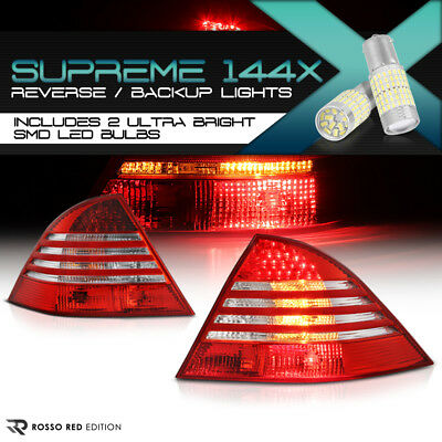 Voll SMD Rückwärtsgang LED Heck Licht Rot Paar 00-05 Mercedes Benz W220 S-KLASSE