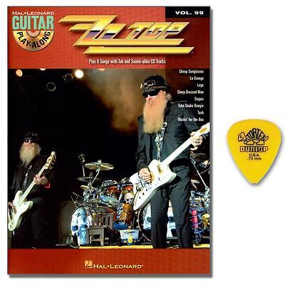 ZZ Top Guitar Play-Along Vol. 99 - CD, DUNLOP PLEK - HL00700762 - 9781423443179