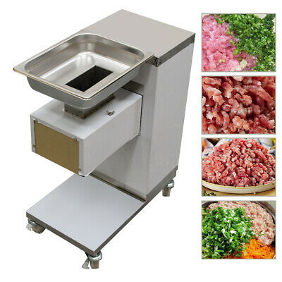 Kitchen Stainless Commercial Meat Slicer Meat Cutting Machine Cutter 500kghour